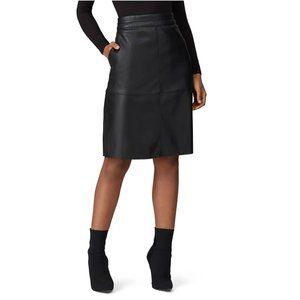 Universal Standard NWT Vegan Leather A-line Skirt